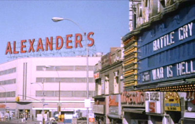 Alexander's and RKO Fordham - Opening Scene of the Wanderers