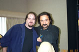 James Hannon and Tom Savini