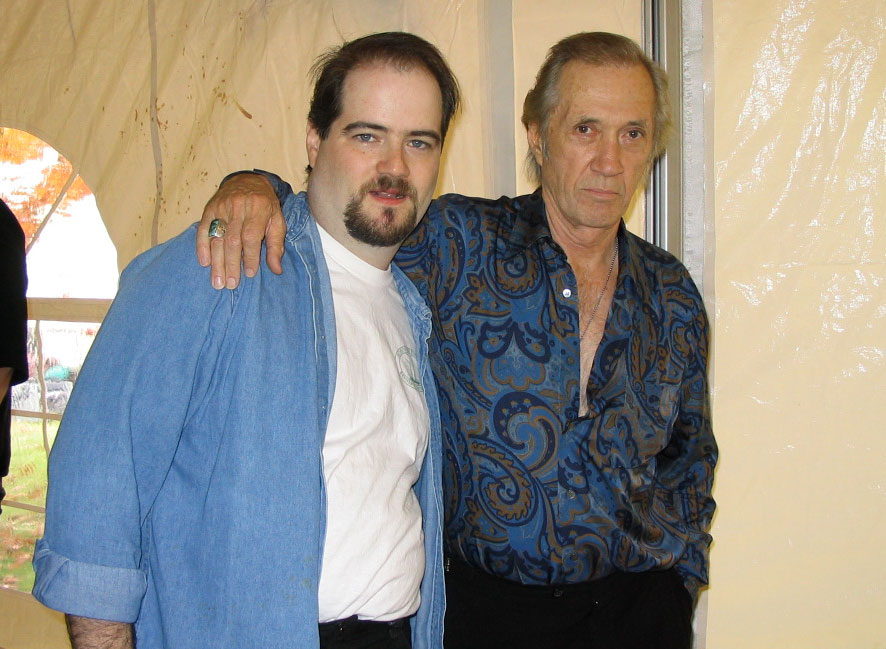 James Hannon and  David Carradine