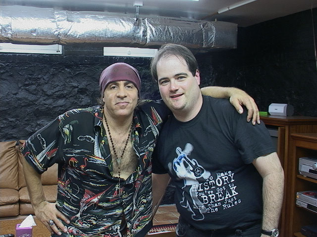 James Hannon and Steven Van Zandt