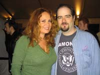 James Hannon and  Catherine Bach aka Daisy Duke