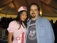 James Hannon and  Linda Tran