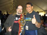 James Hannon and Tito Santana